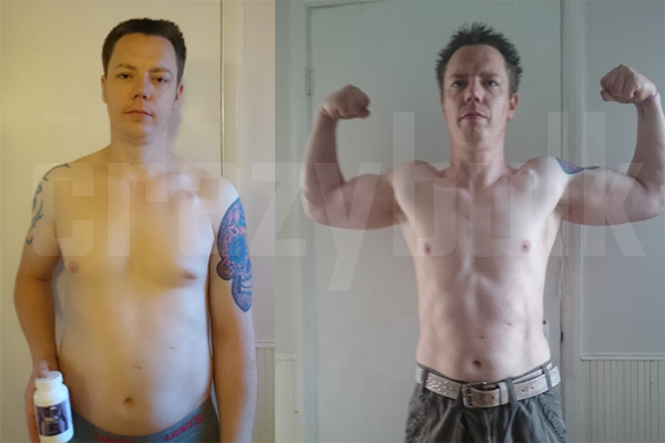 Crazy Bulk Trenorol Before and After Results